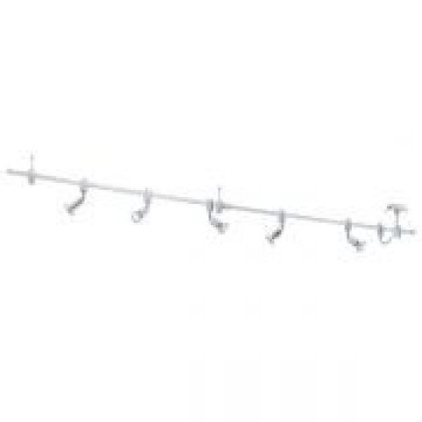 EGLO 93359 Vilanova Chrome LED Ceiling Track Spotlight