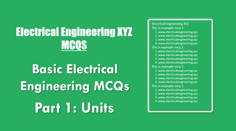 basic-electrical-engineering-mcqs-part-1