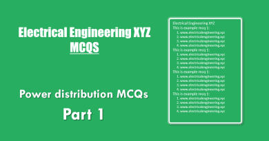 power-distrbution-mcqs-part-1
