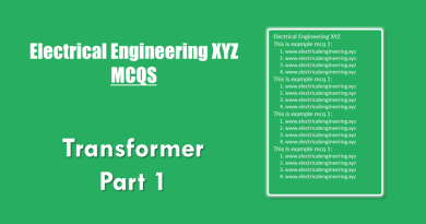 transformer-mcqs-part-1