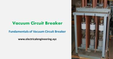 Vacuum Circuit Breaker – Fundamentals of VCB Breaker