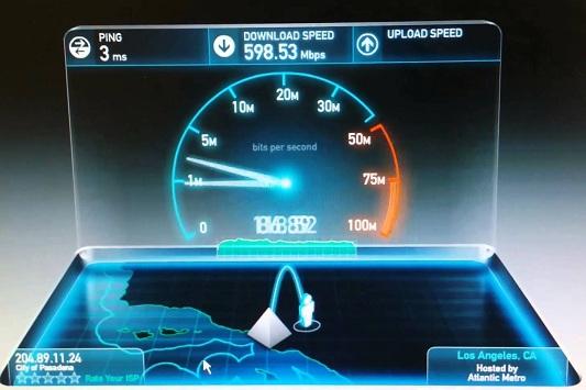 fiber optic internet speed comparison