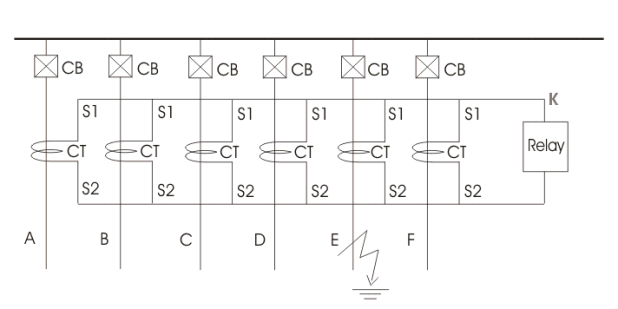 kcl and relay 87 arrangement