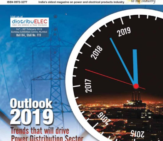 online news, blogs, news articles, Case Studies, Industry Articles, Article Publications, Journal | energy & power industry | Electrical India Magazine February 2019 | Power Distribution Electrification Utilities Lecrama Transformer Transmission Discoms Insulation Motor Drives Induction