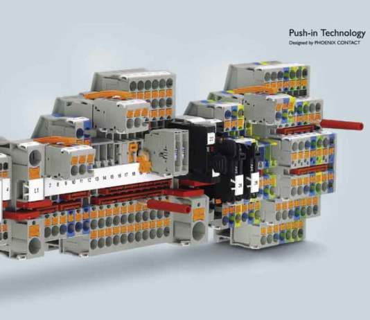 Electricity, Transformers, Motors, Switchgear, Cables, electrical wires, Meter & Measuring Instruments | Push-in Connection Technology – The original Push-in Technology designed by Phoenix Contact - Electrical India Magazine on Power & Electrical products, Renewable Energy, Transformers, Switchgear & Cables