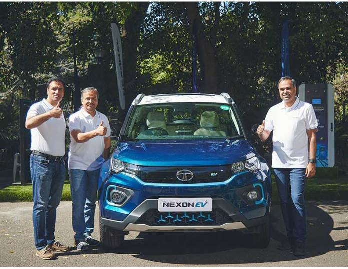 wireless charging technology, wireless Electric Vehicle, EV, Battery Electric Vehicles, BEVs, Hybrid Electric Vehicles   Tata Nexon EV redefines experience with 35 connected car features   Electrical India Magazine on Power & Electrical products, Renewable Energy, Transformers, Switchgear & Cables