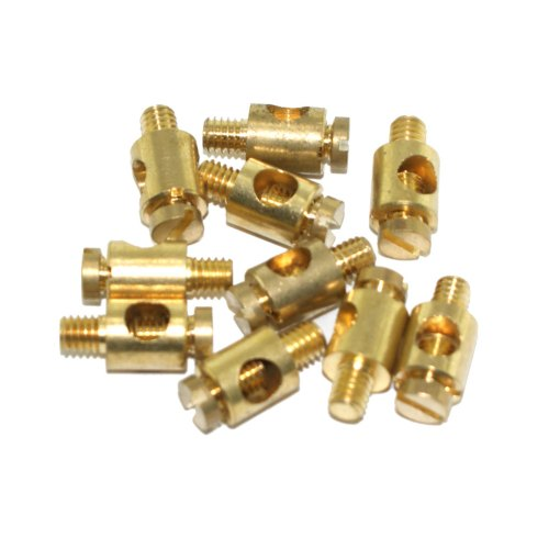 M4 Brass Earth Terminal For Metal Conduit Boxes (10 Pack)
