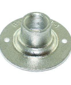 Spouted Dome Conduit Cover 20mm Malleable Iron Galvanised