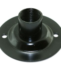 Spouted Black Dome Conduit Cover Pressed Steel for 20mm Conduit 2