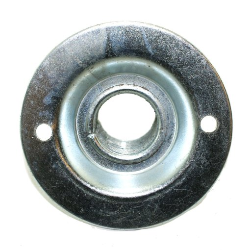 20mm Conduit Dome Cover - Pressed Steel Reverse