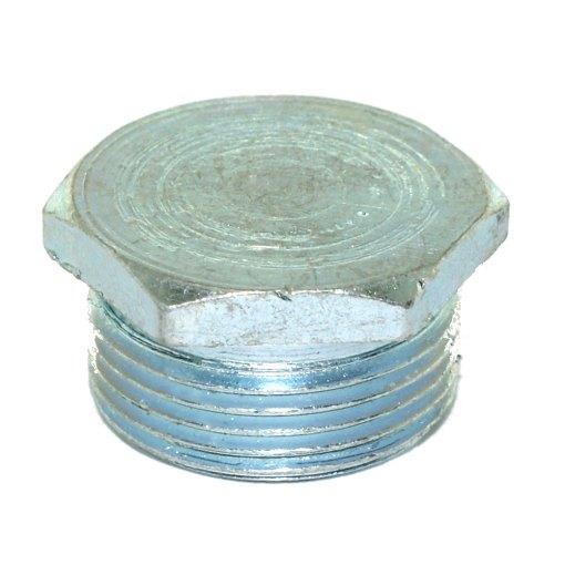 1 x 25mm Hex Conduit Stop End Zinc Plated