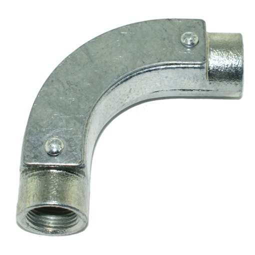 Inspection Bend for 20mm Galvanised Conduit