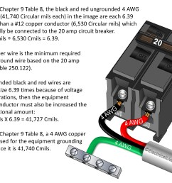 250 122 b size of equipment grounding conductors increased in size ungrounded power cord wiring diagram [ 3028 x 2250 Pixel ]
