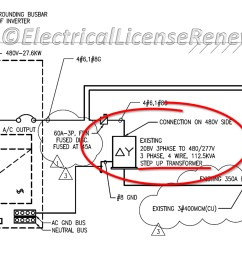 wiring diagram 208v 480v dry type transformers [ 4000 x 2074 Pixel ]