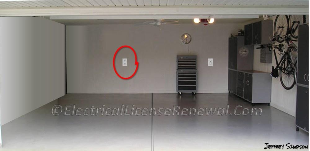 medium resolution of receptacle wiring in garage