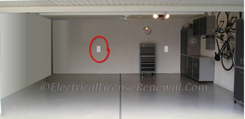 small resolution of receptacle wiring in garage