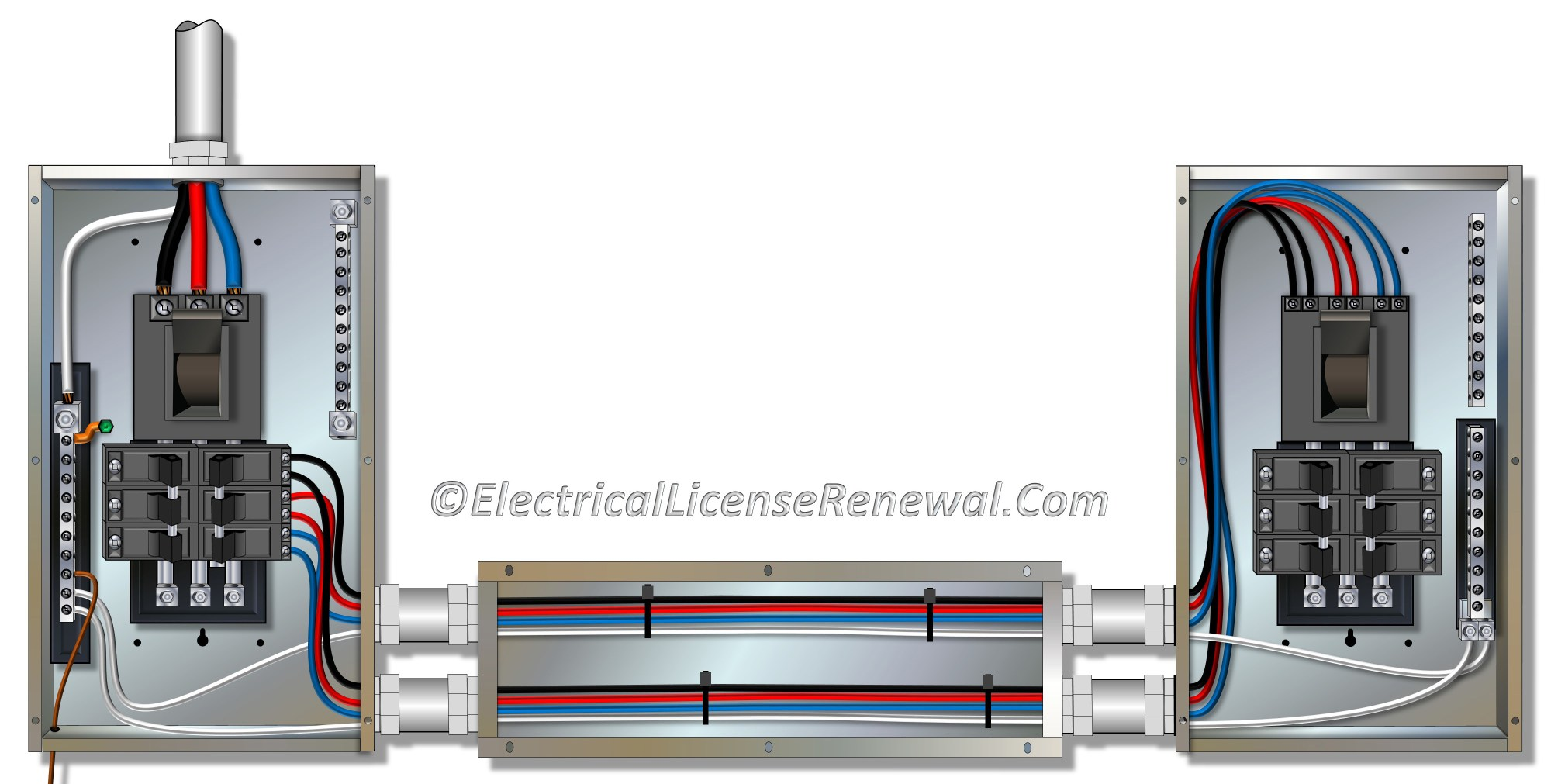 hight resolution of metal electrical wiring