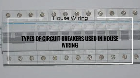 Circuit Breakers And Types Of Circuit Breakersoil Circuit Breaker And
