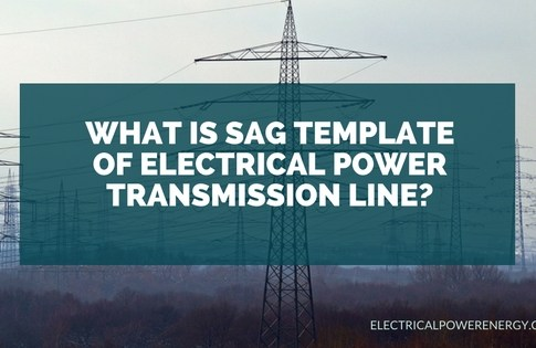 What is Sag Template of Electrical Power Transmission Line?