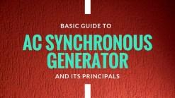 AC Synchronous Generator
