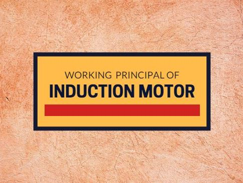 Induction motor working principle and its equations