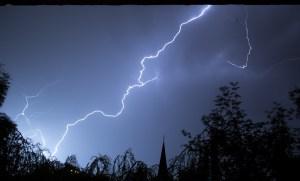 Lightning stroke