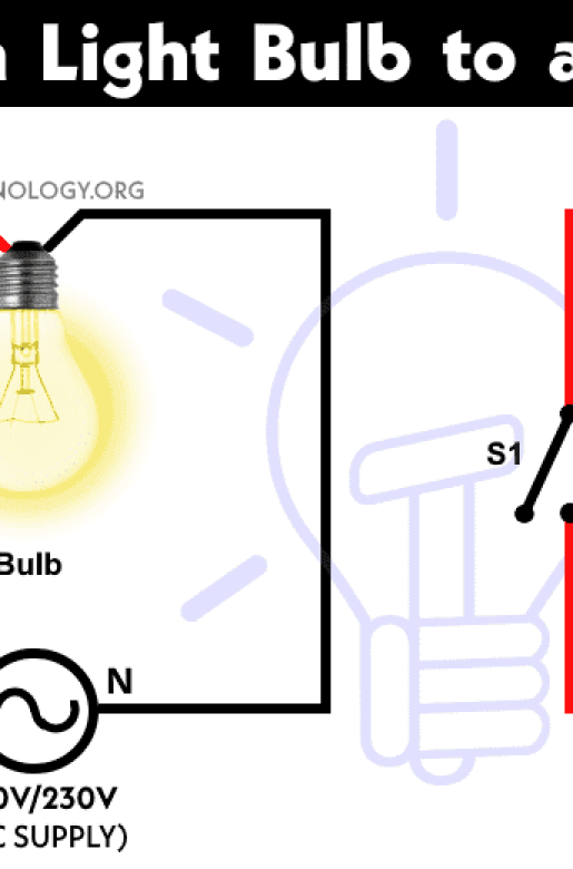 how to control a light bulba single way or oneway switch