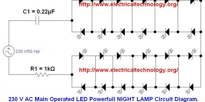 High Voltage Transformer Wiring Diagram 230 V 50hz Ac Or 110v 60hz Main Operated Led Powerful