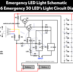 Led 110v Wiring Diagram 1987 Yamaha Moto 4 350 Emergency Lights Powerful And Cheap 716 Circuit
