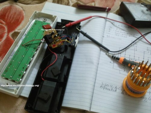 small resolution of  led light circuit project