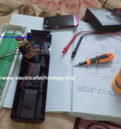 emergency led lights circuit led light project do it yourself project  [ 1024 x 768 Pixel ]