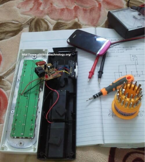 small resolution of emergency led lights circuit