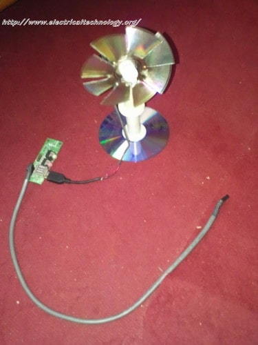 small resolution of  usb mini fan homemade very simple using pc 12v fan motor