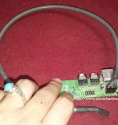 usb mini fan homemade very simple using pc 12v fan motor  [ 1024 x 768 Pixel ]