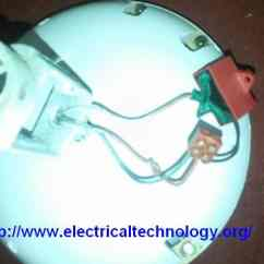 Ceiling Fan Circuit Diagram Capacitor Wiring For Aprilaire 700 Humidifier How To Connect Install A With Electrical
