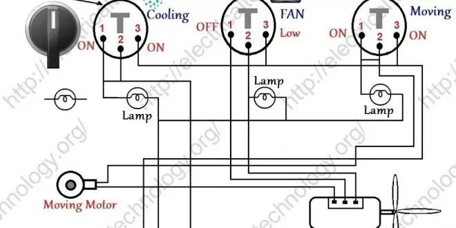 shunt motor wiring diagram suzuki gs550 room air cooler # 1 - electrical technology