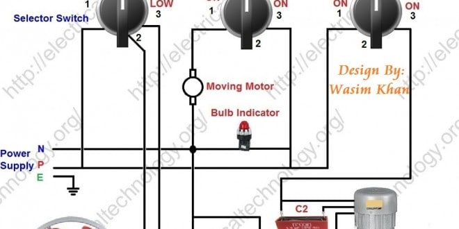 electrical mcb wiring diagram 3d animal cell labeled room air cooler # 2. (with capacitor marking and installation) | ...