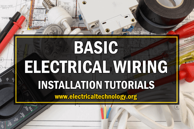 electrical wiring installation diagrams  tutorials  home