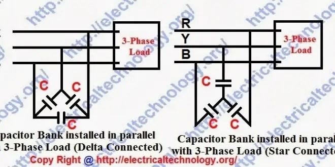 3 phase ups wiring diagram circuit basic automotive electrical diagrams power factor improvement methods | p.f correction