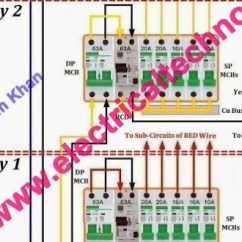 Residential Electric Meter Wiring Diagram Camper Trailer Electrical 43 Single Phase Installation In A Multi Story