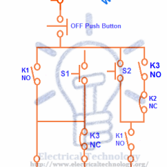 Single Phase Reversing Contactor Wiring Diagram Vw Beetle 1968 Three Motor Connection Star/delta Without Timer Power & Control Diagrams - Electrical ...
