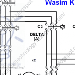 Wye Delta Motor Starter Wiring Diagram Led Calculator Three Phase Connection Star/delta Without Timer Power & Control Diagrams | Electrical ...