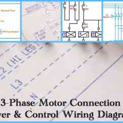 Three Phase Plug Wiring Diagram Structure Of The Earth Motor Power And Control Diagrams