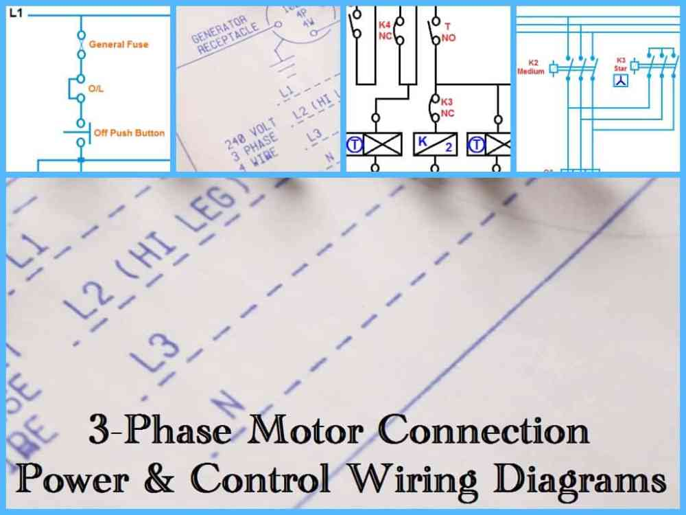 medium resolution of three phase motor wiring connection