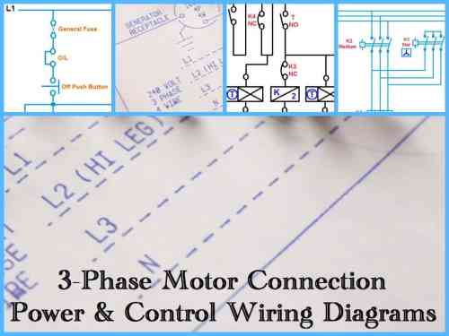 small resolution of three phase motor wiring connection