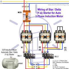 Star Delta Control Panel Wiring Diagram Elevator Electrical Starter Motor Starting Method Power