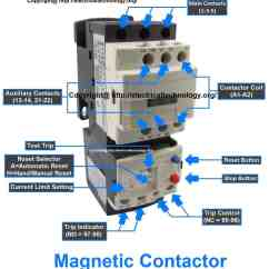 1 Phase Contactor With Overload Wiring Diagram Venn Problems And Answers What Is Electrical Magnetic Contactors