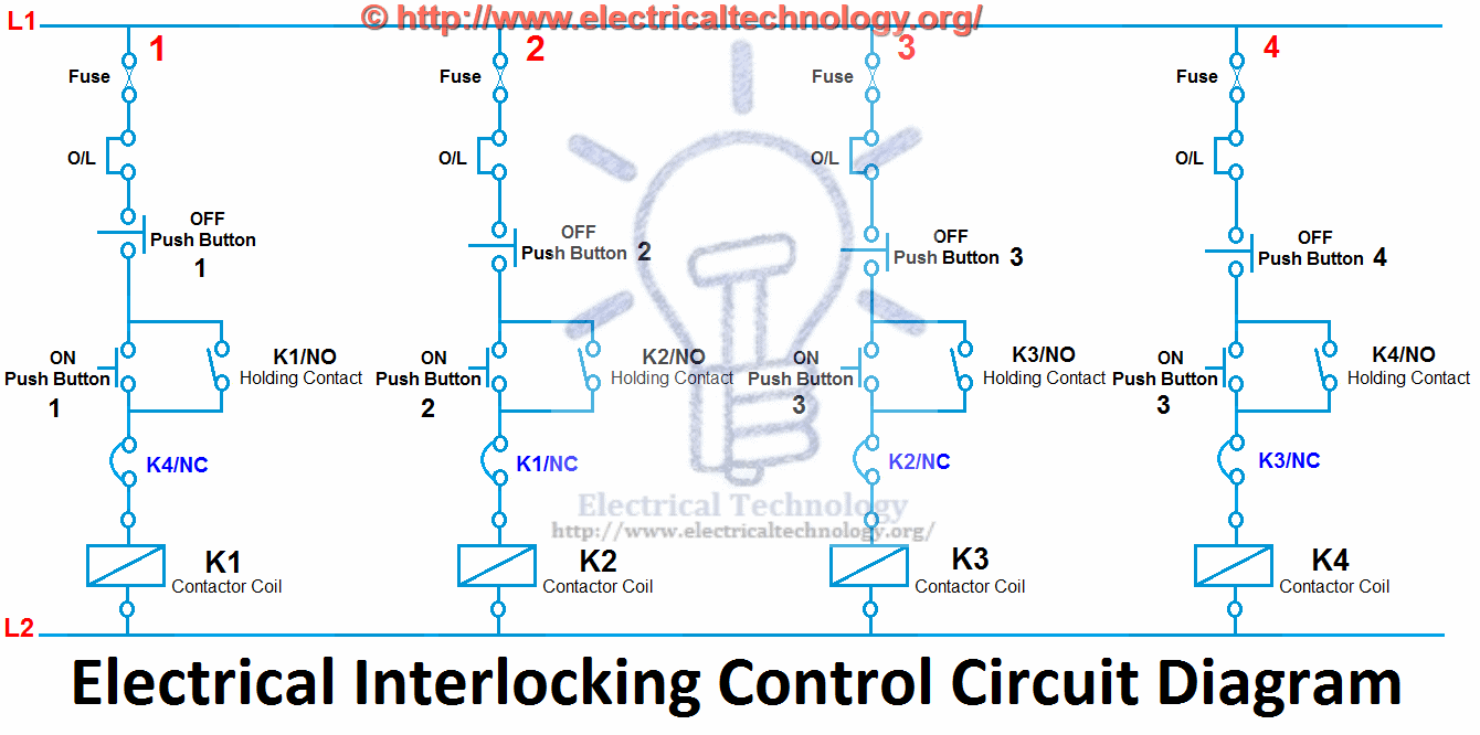 motor control wiring diagram symbols for single phase what is electrical interlocking power diagrams click image to enlarge circuit