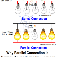 Wiring Lights And Outlets On Same Circuit Diagram How To Design A Network Introduction Series, Parallel Series-parallel Connections