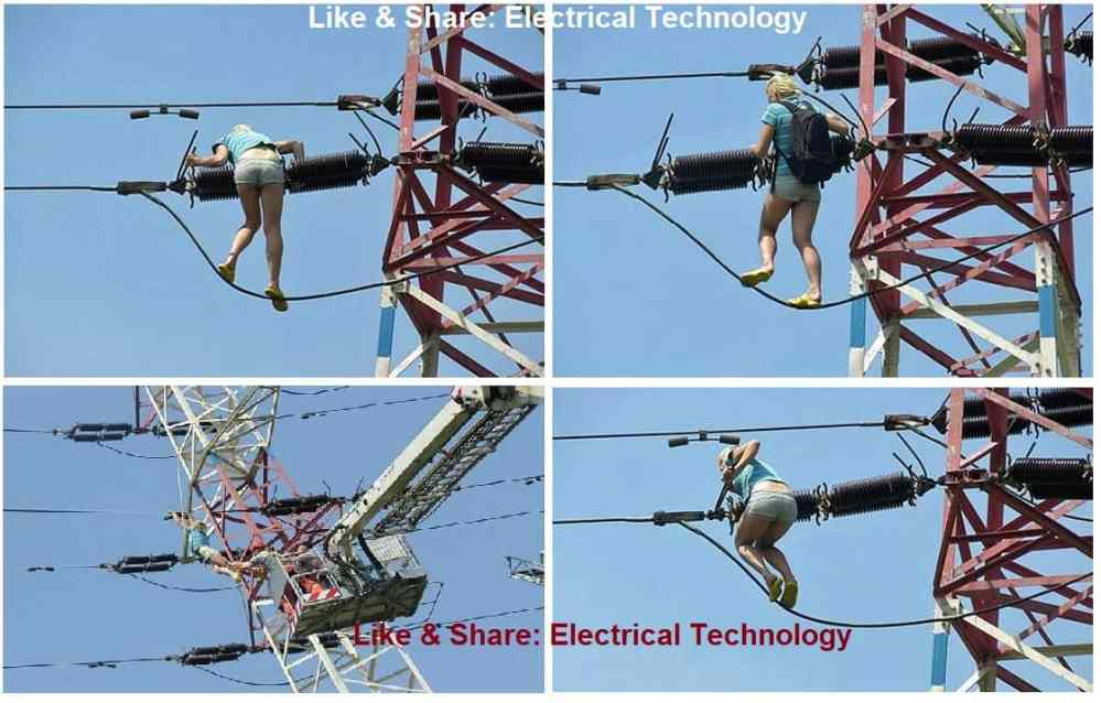 medium resolution of czech girl climbs 40 foot electricity tower after smoking weed electrical engineering hopes and reality funny